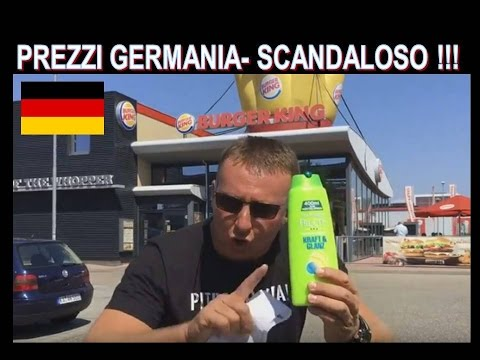 SCANDALOSO In Germania ho speso 67,75 € in Italia  avrei pagati circa 300 € !!!
