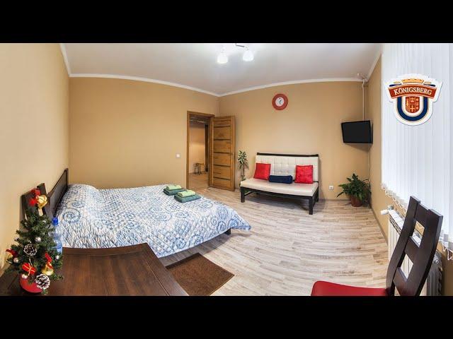 3D тур по апартаментам - панорамное видео 360°