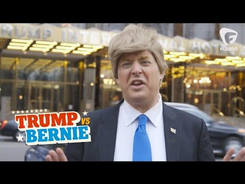 Donald Trump Kicked Out of Trump Tower  • Trump vs Bernie