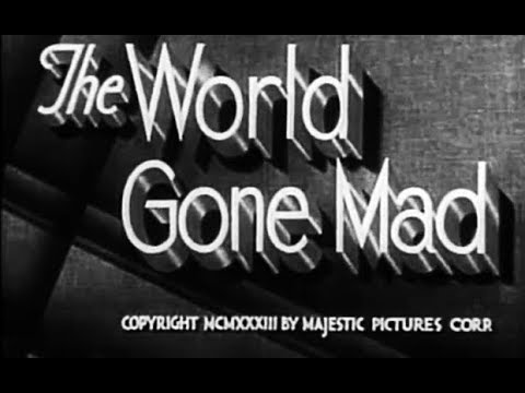 Download Crime Drama Mystery Movie - The World Gone Mad (1933)