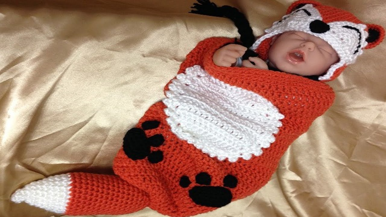 Free Crochet Pattern For Baby Cocoon Photo Prop #Idea - YouTube
