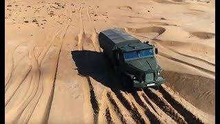Военная приемка. На колесах в броне по пустыне. Часть 2