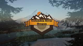 Columbia River Oregon Aerial Vacation