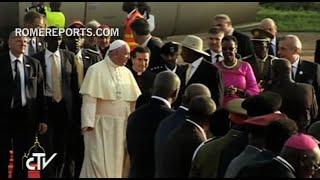 El Papa Francisco ya está en Uganda