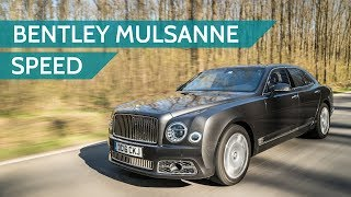 The Bentley Mulsanne Speed experience
