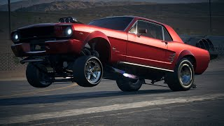Derelict Ford Mustang 1965, LV399 Drag Build!
