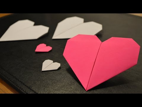 How to Make a Paper Heart ❤️