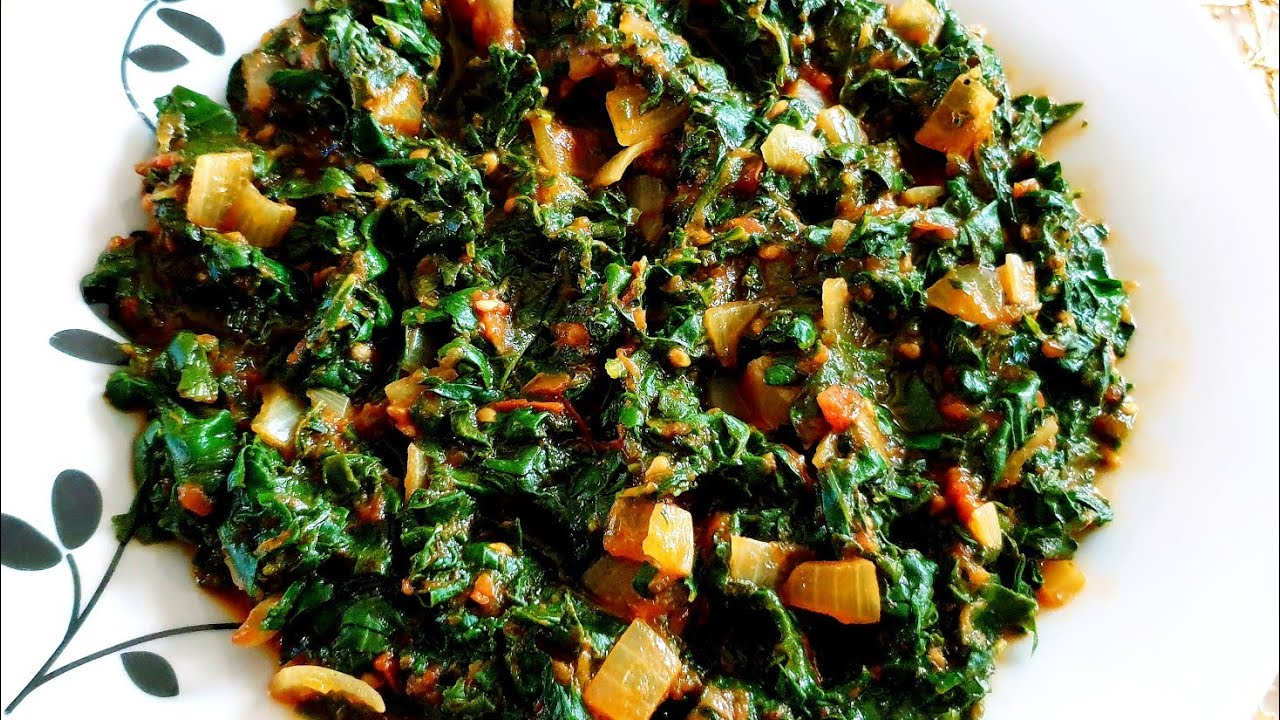 How to cook spinach/The best spinach recipes/How to cook green vegetables/South African foods