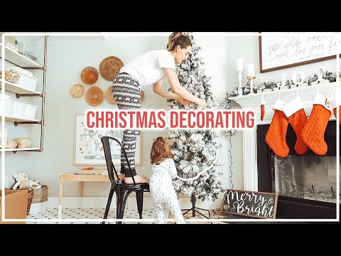 Christmas Clean + Decorate With Me 2019!