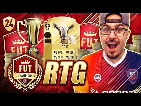OMG THIS BEAST PLAYER SAVED US!! FIFA 18 Road To Fut Champions! Ultimate Team #24 RTG