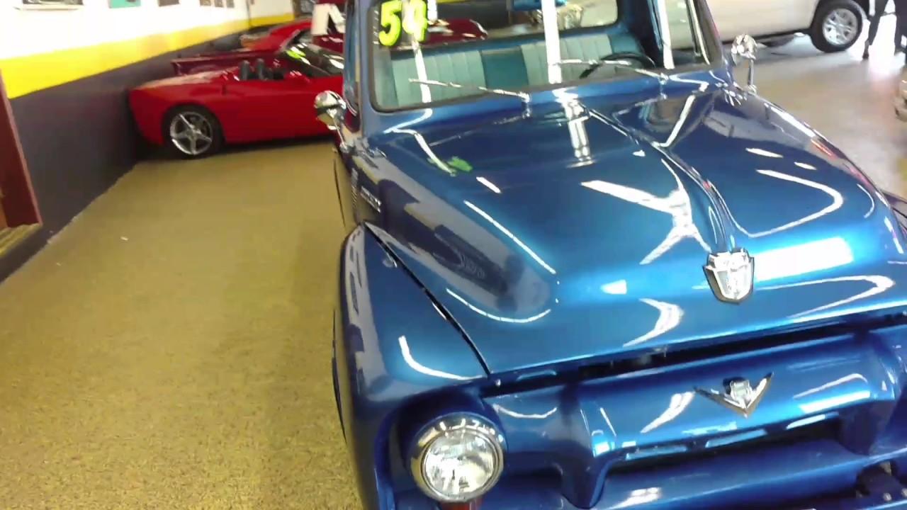 1954 Ford F100 Street Rod Pick Up Youtube Custom