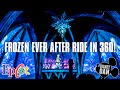 Frozen Ever After In 360º Full Ride Through POV - EPCOT Norway Disney World Resort