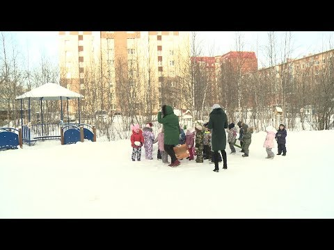 Как организована охрана в детских садах Нового Уренгоя
