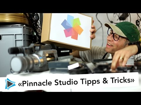 Pinnacle Studio Deutsch Video Tutorials Anleitungen Tipps und Tricks von Simon Gabathuler