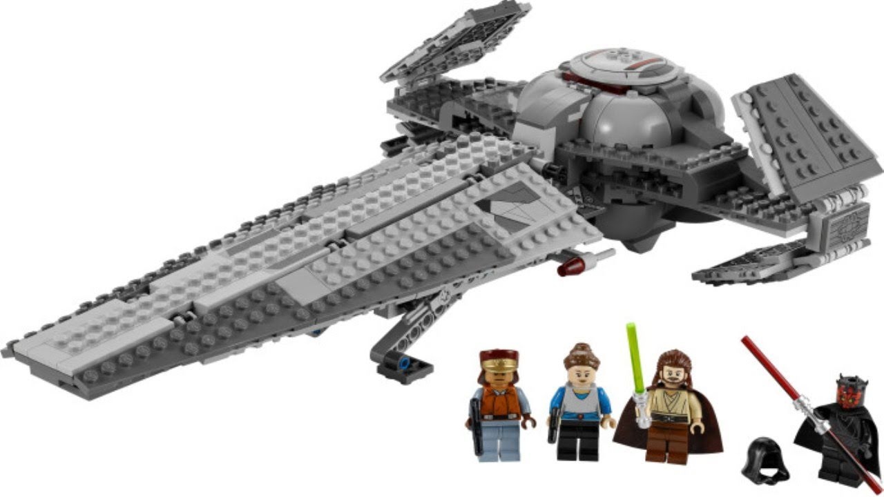 lego star wars 7961 darth mauls sith infiltrator review youtube