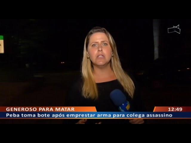 DF ALERTA -  Peba toma bote após emprestar arma para colega assassino