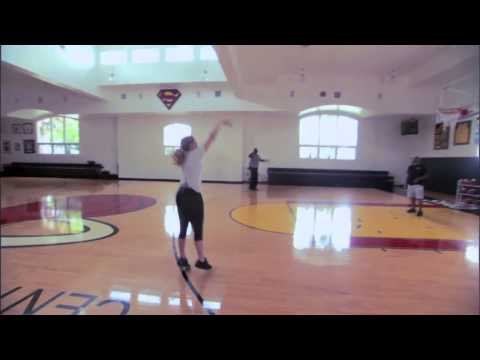 Inside The NBA - Shaq vs Kristen Ledlow Free Throw Contest