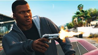 GTA V - End of the Line | San Andreas Remake (GTA 5 Machinima)