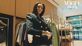 Winnie Harlow takes on Vogue's shopping challenge | Vogue Paris