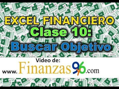 Buscar Objetivo con Ejemplos y Aplicaciones - Clase 10 - Excel Financiero