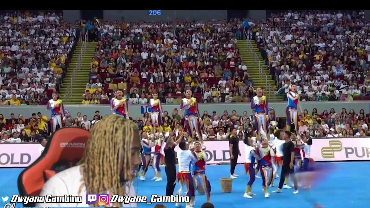 THIS IS AMAZING !!! NU Pep Squad - 2019 UAAP CDC (with CLEAR MUSIC) DWYANE GAMBINO