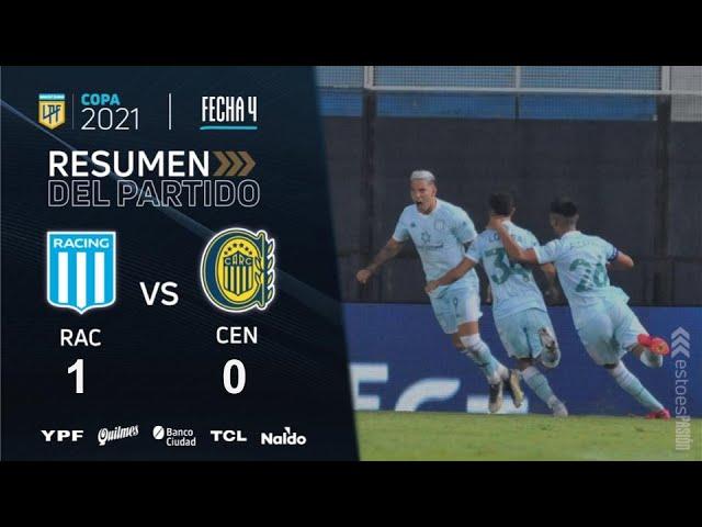 Copa De La Liga | Fecha 4 | resumen de Racing - Rosario Central