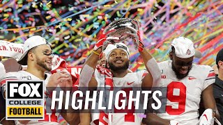 Ohio State's top 5 defining moments of the 2019 season | HIGHLIGHTS | CFB ON FOX