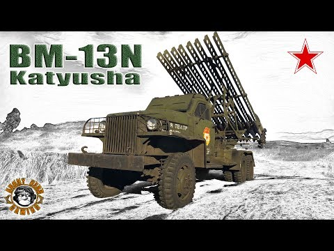 "War Thunder: BM-13N ""Katyusha"", Russian, Tier-2, ""Tank Destr"