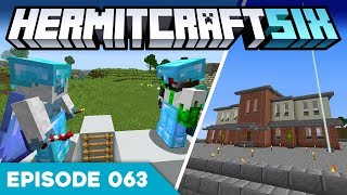 Hermitcraft VI 063 | FORT UPGRADES & COW CANONS?! | A Minecraft Let's Play