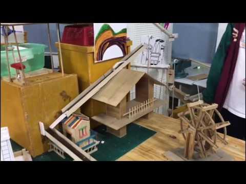 Technion - Shenzhen Middle School Group 2 Earth Day Rube Goldberg Contest 2017