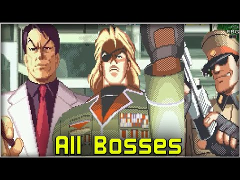 Shock Troopers 2nd Squad - All Bosses |