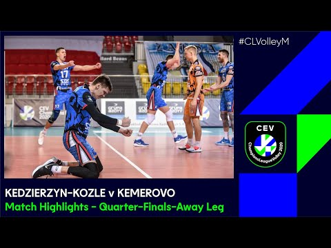 #CLVolleyM   Zaksa KEDZIERZYN-KOZLE Vs Kuzbass KEMEROVO - Match Highlights