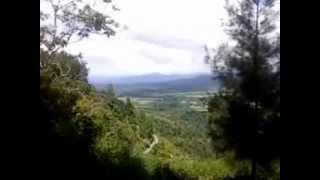 """Panorama Alam Sidikalang """"Taman Iman""""."""