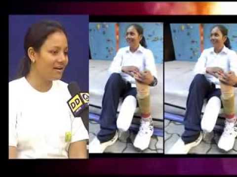 Interview with Arunima Sinha, first female amputee to climb Mt. Everest