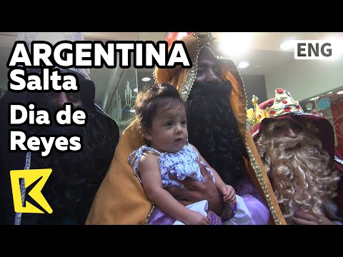 【K】Argentina Travel-Salta[아르헨티나 여행-살타]어린이를 위한 동방박사의 날/Dia de Reyes/Magi/Epiphany/Children