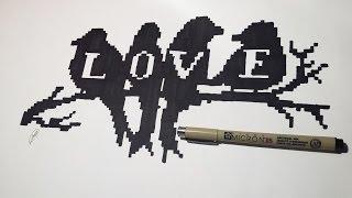 Pixel Art Valentine