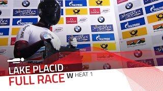 Lake Placid | BMW IBSF World Cup 2015/2016 - Women's Skeleton Heat 1 | IBSF Official