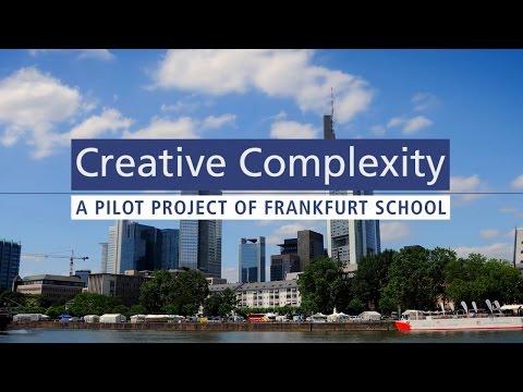 Creative Complexity - A Pilot Project of Frankfurt School (teaser)