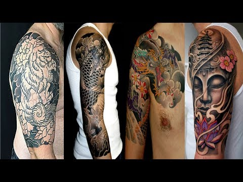 Japanese Tattoo Designs Half Sleeve for Men