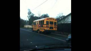 School Bus stopped Jan 27th 2010