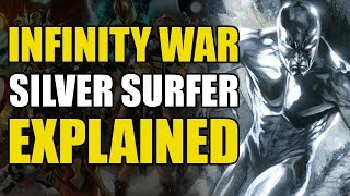 Infinity Gauntlet Leadup - The Silver Surfer