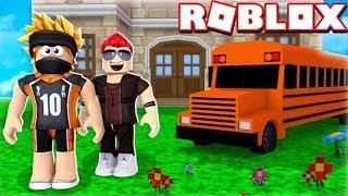 WE GO TO THE NEW SCHOOL! -ROBLOX SCHOOL-GILATHISS