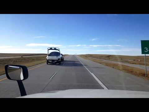 BigRigTravels LIVE! Limon to Denver, Colorado Interstate 70 West-Oct. 11, 2017