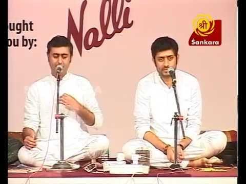 Theliyaleru Rama l Trichur Brothers l Bhakthi Sangeet Utsav 2015 l Carnatic Vocal Concert