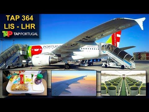 TRIP REPORT | TAP Portugal | LISBON - LONDON HEATHROW | Airbus A319