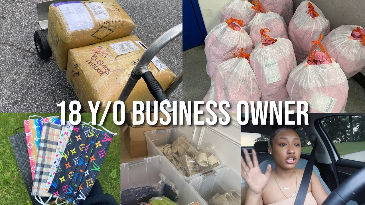 a real day in the life of an 18 year old business owner *business story time + tips!*   Saria Raine