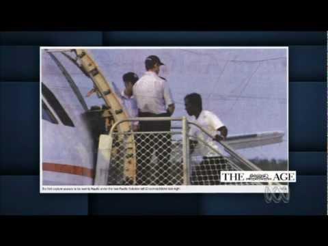 First asylum seekers arrive on Nauru