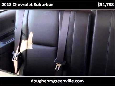 2013 Chevrolet Suburban Used Cars Greenville NC - YouTube
