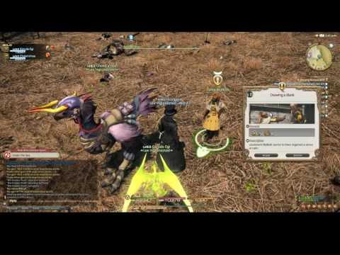 Final Fantasy XIV: Stormblood - Lets Play - The Fringes Side Quests