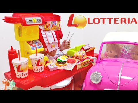 LOTTERIA Drive Thru Prank Baby Doll Ride On Car and Train